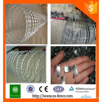 Razor Wire Prison Fence/Razor Barbed Wire Fence sale in High Quality