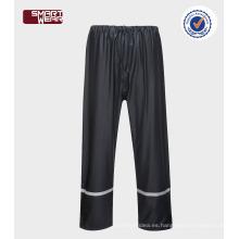 impermeables baratos a prueba de agua de alta calidad con pantalones de lluvia de cinta reflectante