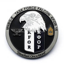 Moeda militar personalizada da lembrança 3D com esmalte macio