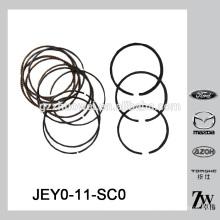 Piezas de automóviles auténticas anillo de pistón STD para Mazda HD / MPV 96 JEY0-11-SC0
