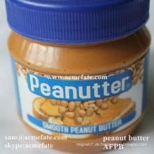 Brotmutter cremig / knusprige Erdnussbutter