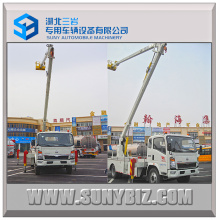16m Sinotruk HOWO Articulated Booms Hydraulic Cage Truck