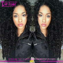 2016 hot sale top quality natural curly hair wigs wholesale cheap 8a grade curly human hair wigs for black women