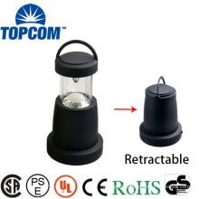 Dry Battery Powered Lantern 17 LEDS Retractable LED Lantern Portable