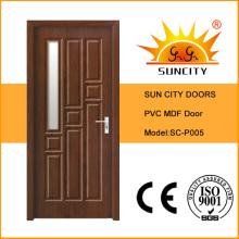 Porta interior de MDF para quarto