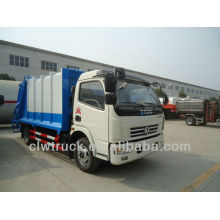 Dongfeng DLK 7-8m3 garbage compactor truck,4x2 refuse compactor