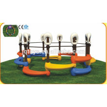 JQC1282 Plastik Kinder Spielplatz / Kinder kombiniert Folie / Vergnügungspark