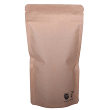 Normal materials nature kraft paper bag for food