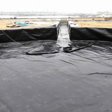 estanque de agua de peces HDPE Geo membrana estándar GM13