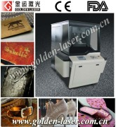 Upholstery Leather Punching Machine/ Laser Engraver Leather Shoes Bags Belts