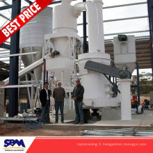 Célèbre machine de meulage de poudre de cendre de marque de SBM, broyeur de poudre moulin de raymond