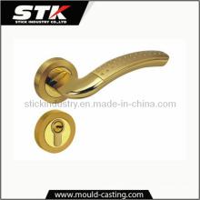 Zinc Alloy Lock Handle by Pressure Casting (STK-14-Z0032)