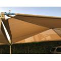 Evergreen sombra vela aparcamiento de coches fuera de la cortina del sol tela de tela de vela