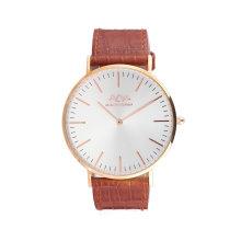 Heißer Verkauf Echtes Leder Quarz Armbanduhr