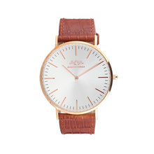 Hot Selling Genuine Leather Quartz Wrist Watch
