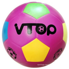 Purple Color Smooth Surface Soccerball for Sporting