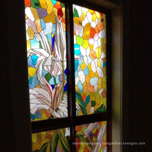 Chinese Tempered Laminated Stained Glass for Commercial Building and Cathedral Windows