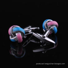 Hot Sale Knot French Cufflinks (L28427 (1))