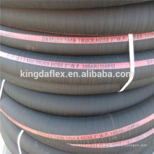 Oil Resistant Textile Reinforced 3 Inch Flexible Rubber Suction Hose SAE100R4