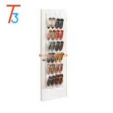 24 Pocket Over The Door Hanging Shoe Storage Bag