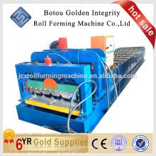 Metallblech Roofing glasierte Stahl Fliesen Rollenformmaschine
