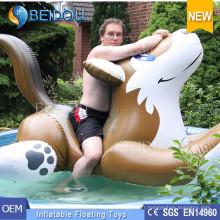 Custom Giant Swan gonflable Watermelon Horse Flamingo Unicorn Pool Float