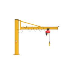 Workshop working Column manual jib crane 1 ton