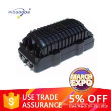 Caja de empalme de fibra al aire libre del cable de fibra óptica PG-FOSC0912, caja de fibra óptica conjunta