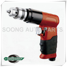 "Professional Pneumatic Air Tools, Red 3/8"" Reversible Air Drill"