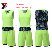 2017 последний OEM высокое качество баскетбол Джерси оптовая баскетбол униформа