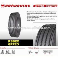 Бренд Roadshine шины, радиальных грузовых шин 1000-20 шины