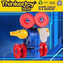 Crianças Brinquedo Plástico Bloco de Construção