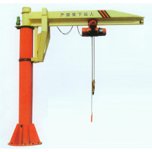 Pillar Mounted Floor Crane, Slewing Arm Jib Crane