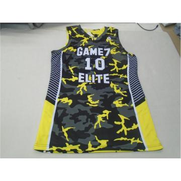 Partihandel anpassad basket kläder Senaste Basketball Jersey och shorts Design Sublimation Reversible Basketball uniform Jersey