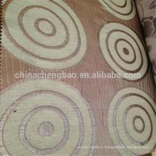 Des noms de tissus de rideaux jacquard en chenille épais de haute qualité