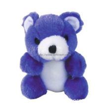 Stuffed Bear Toy Blue Color