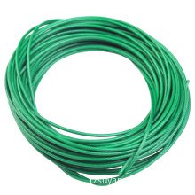 UV Stable PVC Coating Stainless Steel Cable 316 1X19 - 8mm/10mm