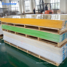 100% Pure Raw Lucite Material colorful price of 3mm Acrylic panel factory