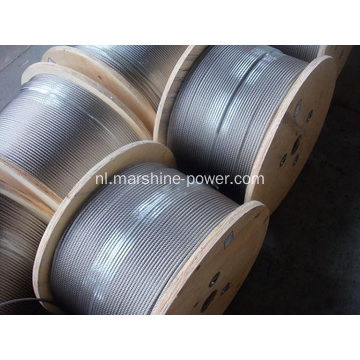 Bright Grease Oil Steel Wire Rope