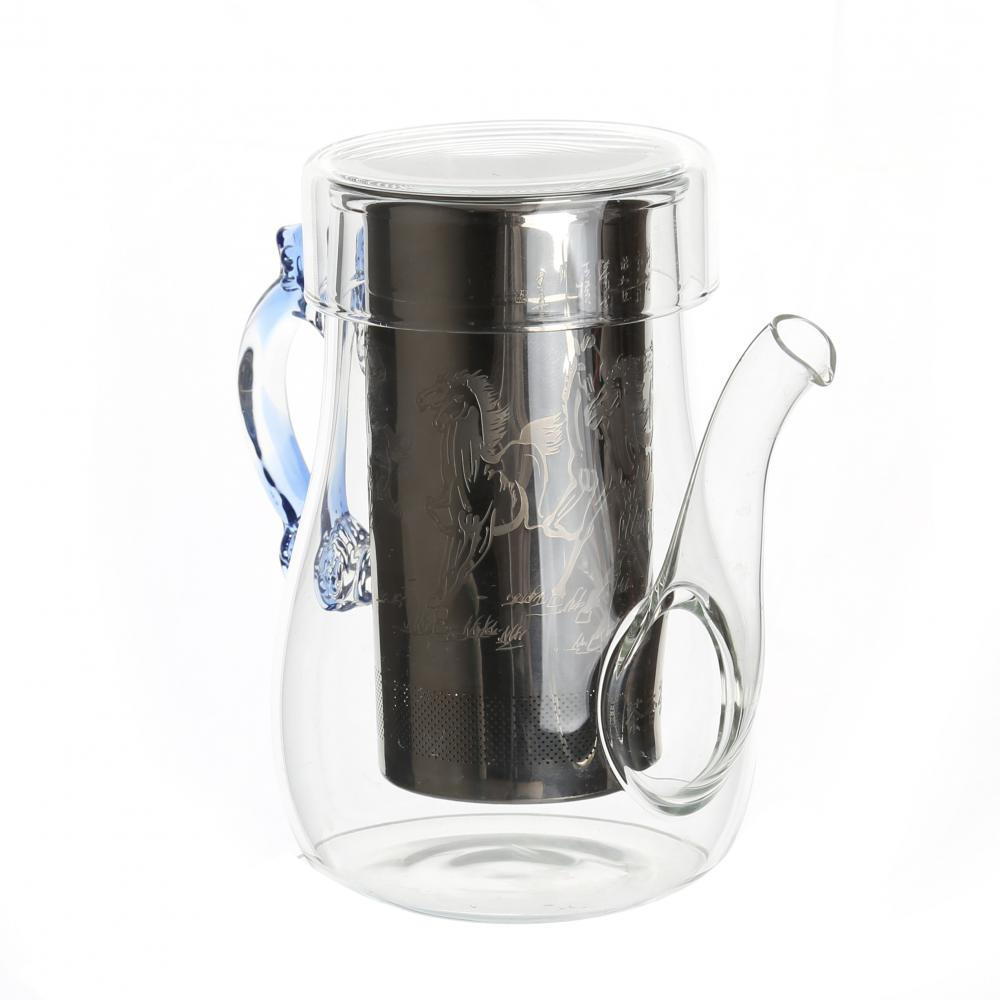 Nuevo producto Glass BloomingTeapot With Infuser