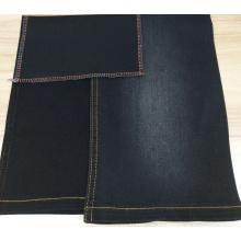 Alta qualidade revestido de cetim de prata tecido atacado denim