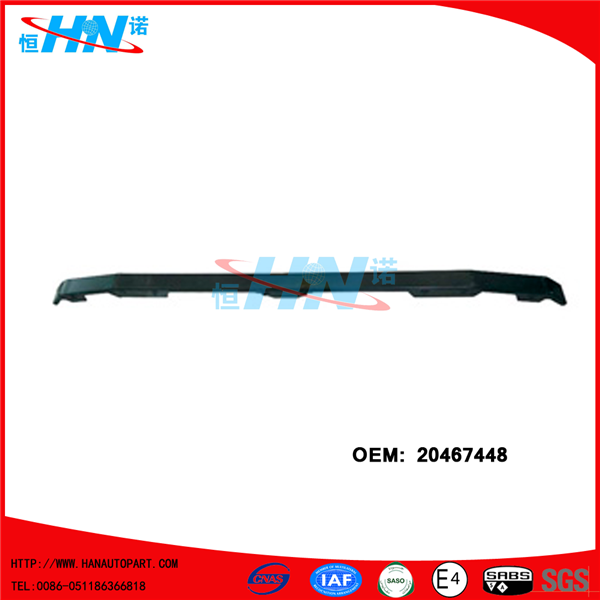 20467448 Wholesale Price Truck Upper Bumper For Volvo FH Vers.2