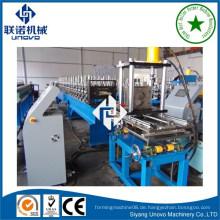Struktur Metall Pfette Formmaschine mit Online-Stanzen