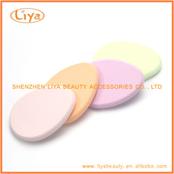 Soft Colored Cosmetic Sponges for Face Use