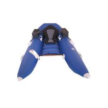 Novo estilo azul barco inflável para pesca