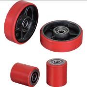 Polyurethane Pallet Truck Jack Rollers & Wheels