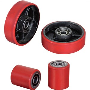 Polyurethane surface Pallet Truck Jack Rollers & Wheels