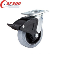 200mm Heavy Duty Swivel Conductive Wheel Castor (with nylon total brake)