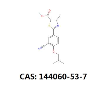 Febuxostat api Febuxostat intermediate cas 144060-53-7