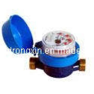 Medidor de água do corpo do plástico do tipo multi seco do jato